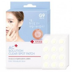 патчи от акне berrisom ac solution acne clear spot patch