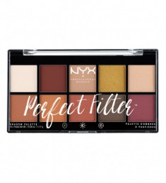 NYX PROFESSIONAL MAKEUP Палетка теней Perfect Filter Shadow Palette - Rustic Antique 02