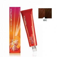 MATRIX 6BC краска для волос, темный блондин коричнево-медный / КОЛОР СИНК 90 мл