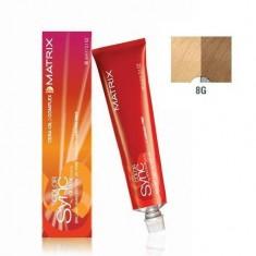 MATRIX 8G краска для волос, светлый блондин золотистый / КОЛОР СИНК 90 мл