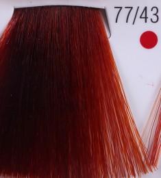 WELLA PROFESSIONALS 77/43 краска для волос, красная энергия / Koleston Pure Balance 60 мл