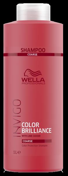 WELLA PROFESSIONALS Шампунь для защиты цвета окрашенных жестких волос / Brilliance 1000 мл