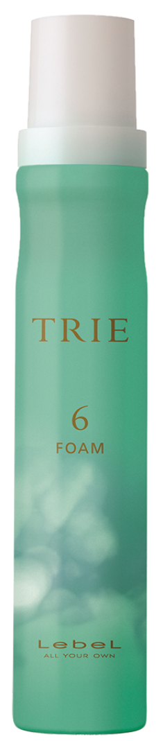 LEBEL Пена средней фиксации для укладки волос / TRIE FOAM 6 200 мл