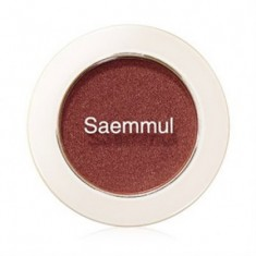 Тени для век мерцающие THE SAEM Saemmul Single Shadow Shimmer BR04 2гр