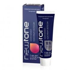 тонирующая маска для волос estel newtone 10/76 светлый блондин коричнево-фиолетовый 60 мл Estel Professional