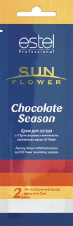 ESTEL PROFESSIONAL Крем для загара / Sun Flower Chocolate Season 15 мл