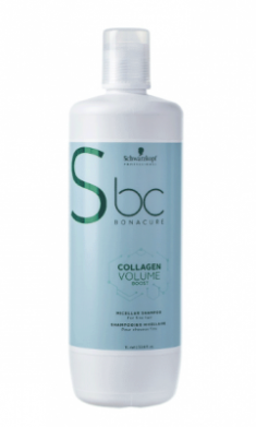 Шампунь мицеллярный Schwarzkopf Professional BC Collagen Volume Boost 1000 мл