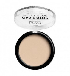 NYX PROFESSIONAL MAKEUP Тональная основа-пудра Can't Stop Won't Stop Powder Foundation - Fair 01,5