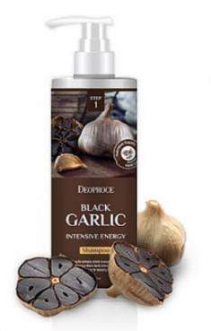 Шампунь интенсивный с чёрным чесноком DEOPROCE Shampoo black garlic intensive energy 1000мл
