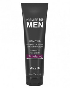 Шампунь для роста волос стимулирующий OLLIN PREMIER FOR MEN Shampoo Hair Growth Stimulating 250мл
