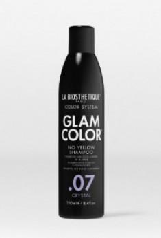 Шампунь против желтизны Glam Color No Yellow Shampoo .07 Crystal 250 мл LA BIOSTHETIQUE