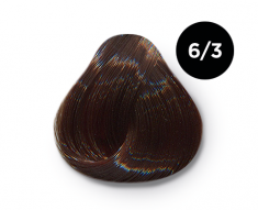 OLLIN PROFESSIONAL 6/3 краска для волос, темно-русый золотистый / OLLIN COLOR 100 мл
