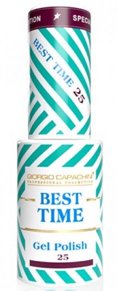 GIORGIO CAPACHINI 25 гель-лак трехфазный для ногтей / BEST TIME 8 мл
