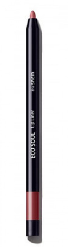 Карандаш для губ THE SAEM Eco Soul Lip Liner RD01 French Red