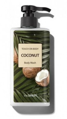 Гель для душа THE SAEM Touch On Body Coconut Body Wash 300мл