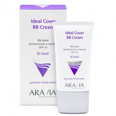 BB-крем увлажняющий SPF15 ARAVIA Professional Ideal Cover BB-Cream тон02 50мл