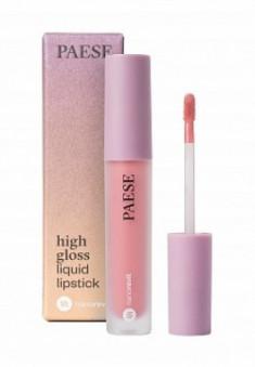 Помада жидкая PAESE High gloss liquid lipstick NANOREVIT 51 Soft Nude