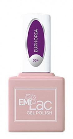 E.MI 054 NEON гель-лак для ногтей, Эйфория / E.MiLac 6 мл