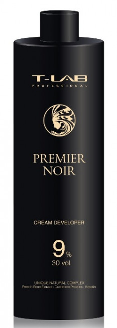 T-LAB PROFESSIONAL Крем-проявитель 9% 30 Vol / Premier Noir Cream developer 1000 мл