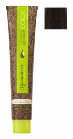 Краска для волос Macadamia Oil Cream Color 3 ТЕМНЫЙ КАШТАНОВЫЙ 100мл