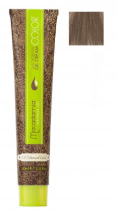 Краска для волос Macadamia Oil Cream Color 8.1 СВЕТЛО ПЕПЕЛЬНЫЙ БЛОНДИН 100мл