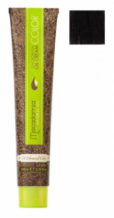 Краска для волос Macadamia Oil Cream Color 4.73 СРЕДНИЙ ШОКОЛАДНЫЙ КАШТАНОВЫЙ 100мл