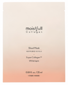 "Маска для лица тканевая ""Супер Коллаген"" ETUDE HOUSE Moistfull Collagen Sheet Mask Super Collagen 25мл"