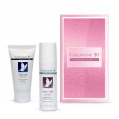 Подарочный набор косметический для мгновенного преображения кожи лица, 1 шт. (Medical Collagene 3D)