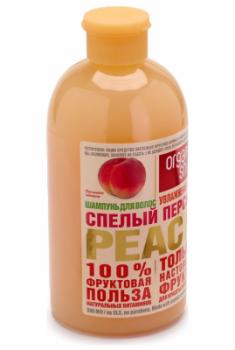 """Шампунь Organic Shop Фрукты """"Спелый персик"""" 500мл"""